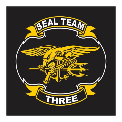 Seal Team Three, Cutting Sticker
