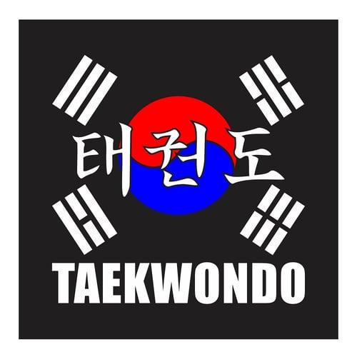 Taekwondo, Cutting Sticker