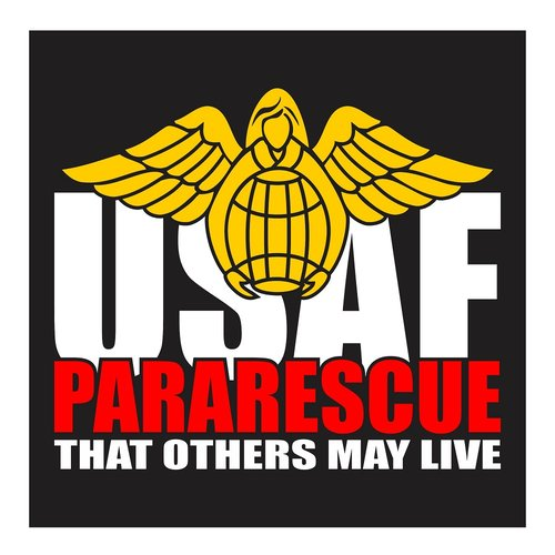 United States Air Force, Pararescue, That Others May Live, Cutting Sticker