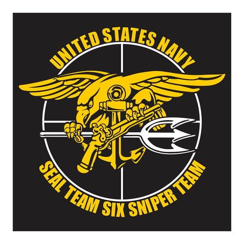 United States Navy, Seal Team Six Sniper Team, Cutting Sticker