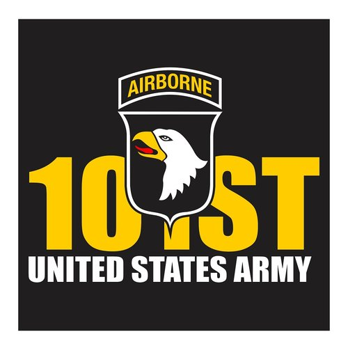 US Army 101st Airborne, Cutting Sticker