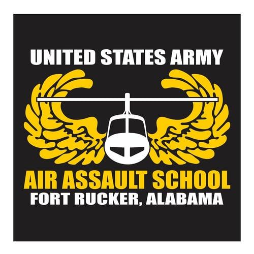 US Army Air Assault School, Fort Rucker Alabama, Cutting Sticker