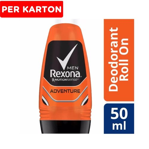 REXONA Men Roll On Adventure ID RL 24X50ML