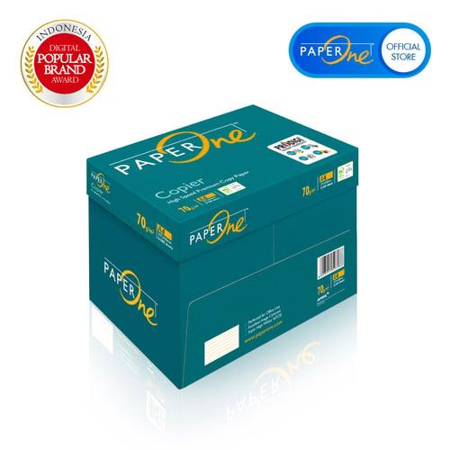 PAPERONE Kertas HVS Fotocopy 70g A4 1 Box isi 5 Rim