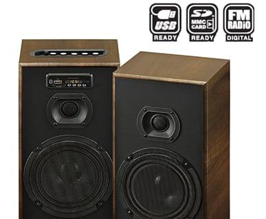SHARP Speaker Active CBOX-B625UBO PMPO 9.000 W