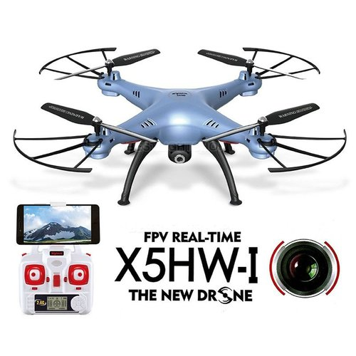 SYMA Drone X5HW [Hold & Wifi/ Live View /2 MP] BLUE
