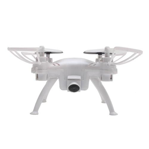 tkkj - TK106RHW Drone with 0.3 MP HD Camera 4 Channel Remote Control Quadcopter - Putih White