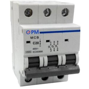 PROMO MCB 1P Rated Current 2., 4, 6, 10, 16, 20, 25, 32 amp