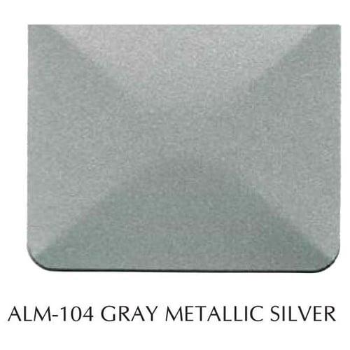 Aluminium Composite Panel Alubond USA/4MM(0.5)/1250x4880/FR (Fire Resistant) Core/ALM 104 Grey Metallic Silver