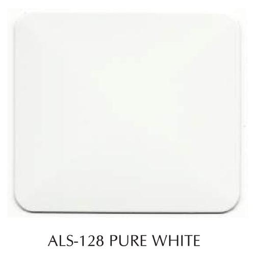 Aluminium Composite Panel Alubond USA/4MM(0.5)/1250x4880MM/PE Core/ALS 128 Pure White