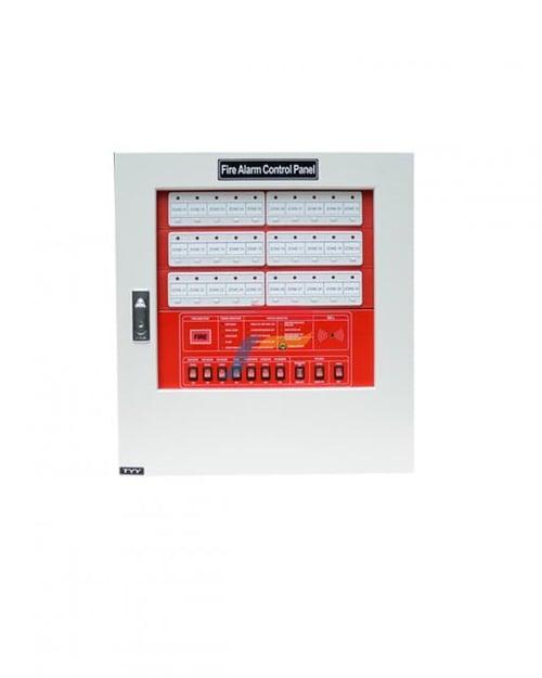 JUAL FIRE ALARM YUNYANG MCFA/FACP KONVENSIONAL KONTROL PANEL KEBAKARAN STEEL 30 ZONE