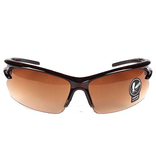 Kacamata Day View Vision Sporty Coklat Y4