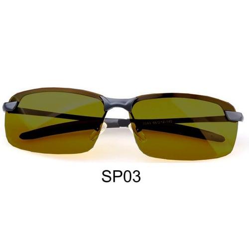 Kacamata Polarized Safe Driving Night View Coklat SP3