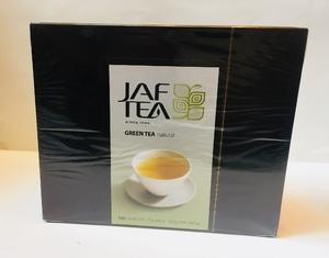 JAFTEA Green Tea Natural 1box Isi 100pcs