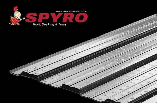 SPYRO FLOORDECK Panjang 6 Meter (Tebal 0.75 mm) /  Lantai Gedung Pabrik