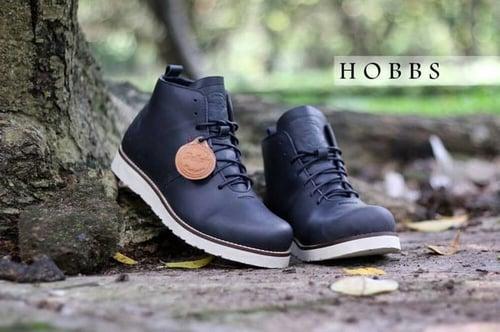 Sepatu boot kulit asli Bradleys Hobbs Original