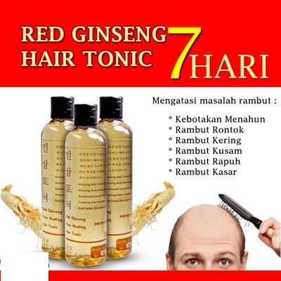 Red Ginseng Tonic BPOM / Red Ginseng Hair Tonic BPOM
