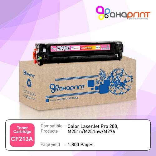 AHAPRINT Toner Cartridge Tinta Printer Laserjet 131A CF213A Color Magenta Murah