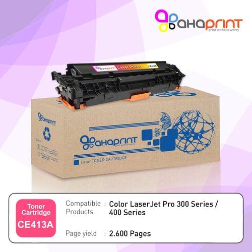 AHAPRINT Toner Cartridge Tinta Printer Laserjet 305A CE413A Color Magenta Murah