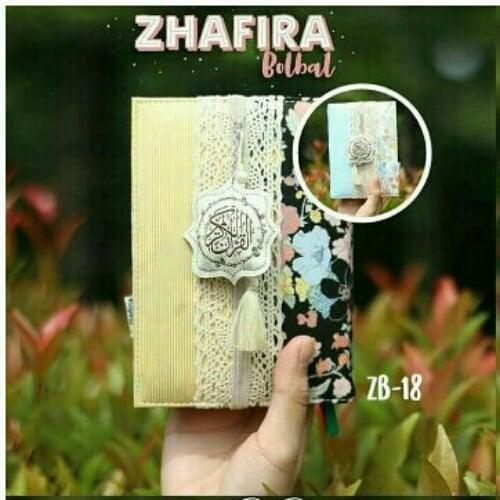 MADINA Al Quran Zhafira Cover Bolak Balik ZB18