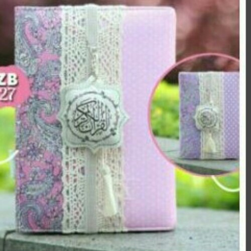 MADINA Al Quran Zhafira Cover Bolak Balik ZB27