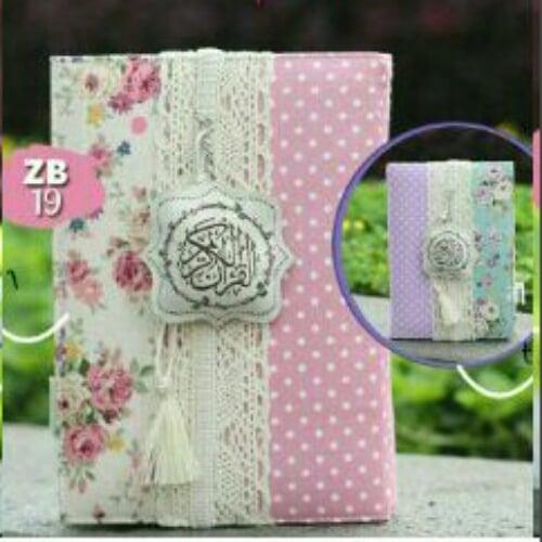 MADINA Al Quran Zhafira Cover Bolak Balik ZB19