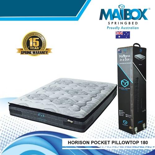 MAIBOX Kasur Springbed Horison Pillowtop 180x200cm