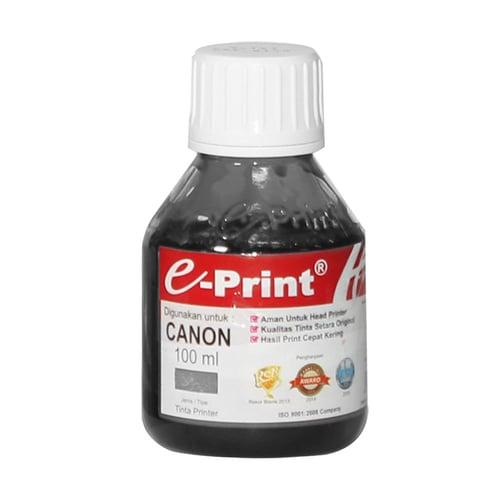 EPRINT Tinta Printer Canon Inkjet Bulk Ink Reguler 100ml Black