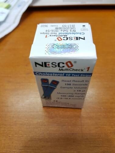 Terlaris Strip nesco kolesterol / cholestrol