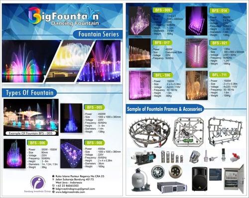 Air Mancur Menari BigFountain Dancing Fountain