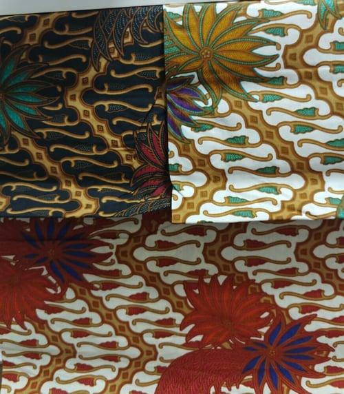 Seragam Regular Batik Cap dan Premium Cotton Motif 1