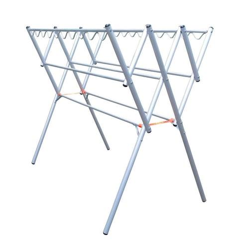 GLORY HOME Jemuran Baju Aluminium Hanger 120 cm