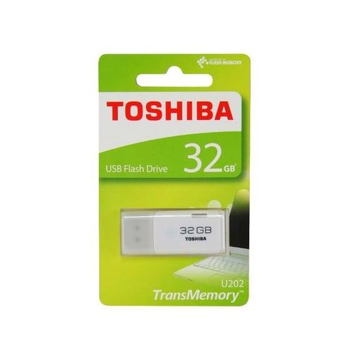 Flashdisk Toshiba USB Flash Drive 32GB U202 Putih