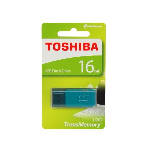 Flashdisk Toshiba USB Flash Drive 32GB U202 Warna Putih Dan Biru