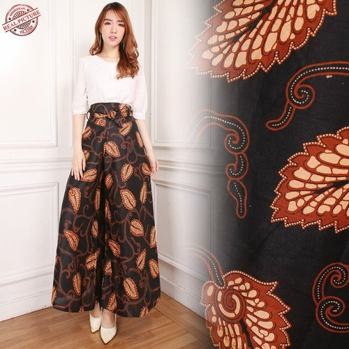 Celana Kulot Batik Nabda Long Pants Wanita
