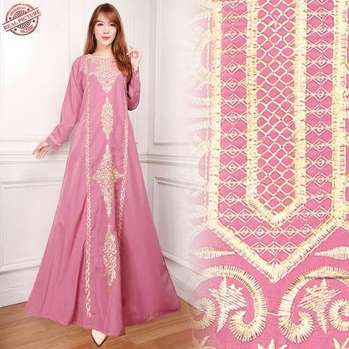 Gamis Maxi Airin Long Dress Wanita
