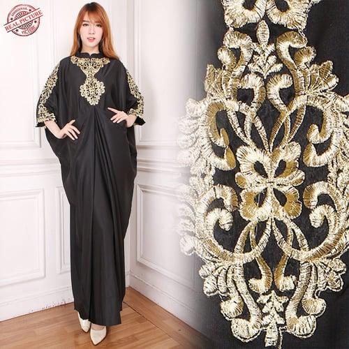 Gamis Maxi Kaula Long Dress Wanita Jumbo