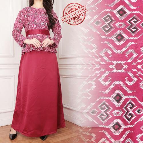 Gamis Maxi Lania Long Dress Wanita