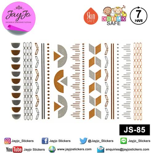 Jayjo Stickers  JS-85 Temporary Tattoo Classic - Tato Temporer - Tattoo Temporary - Jewelry Temporary Tattoo