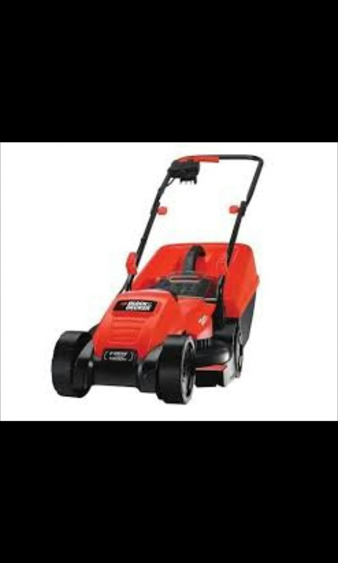 Mesin potong rumput 1200W 32cm Electric Lawnmower  EMAX32N-B1