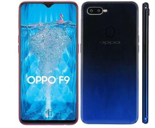 OPPO F9 - RAM 4GB ROM 64 GB - Garansi Resmi Oppo Indonesia 1 Tahun
