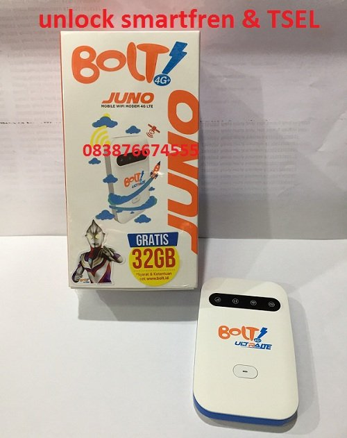 wifi bolt juno unlock bonus 32gb 30hari aktif by order
