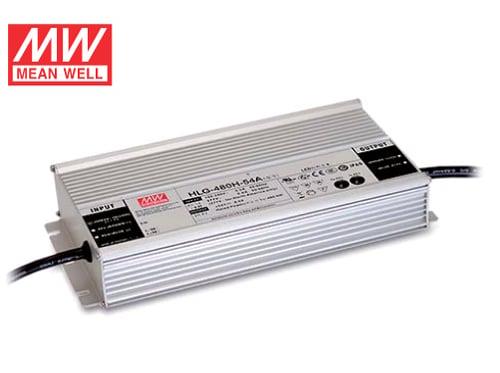 Power Supply MEAN WELL LED Driver HLG-480H-V-B