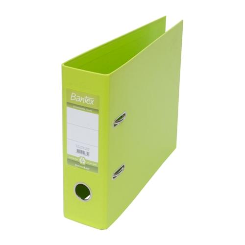 BANTEX Lever Arch File Ordner Plastic A5 1453 65 Lime