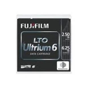 FJ-LTO6 FUJIFILM Ultrium LTO 6 Tape Cartridge 2.5TB - 6.25TB