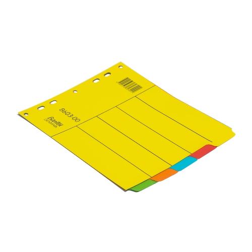 BANTEX Cardboard Divider 180x215mm 5 Divider 8603 00