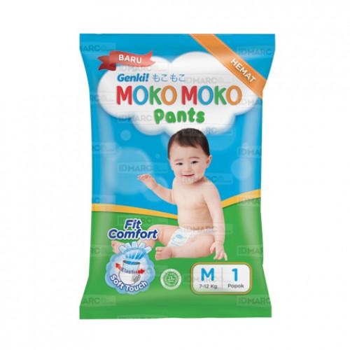 Genki Moko Moko Pants M1 isi 30 pcs
