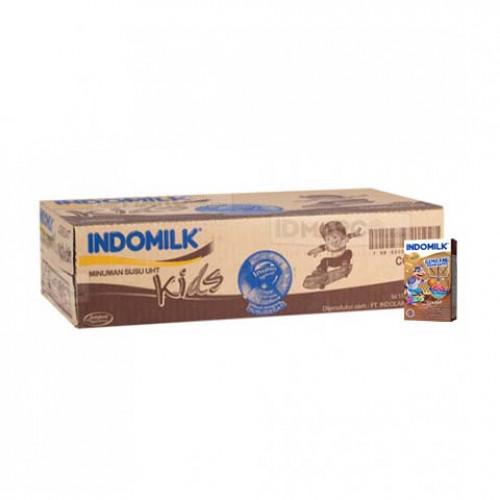 Indomilk UHT Kids Cokelat 115 ml isi 40 pcs