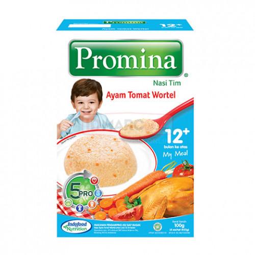 Promina Nasi Tim Rasa Ayam Tomat Wortel 100 gr