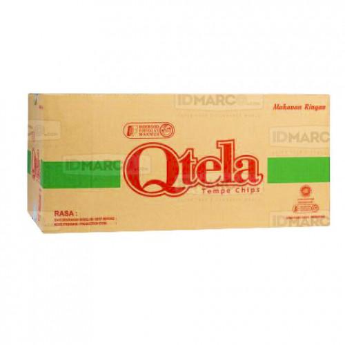 Qtela Tempe Original 60 gr Isi 15 pcs